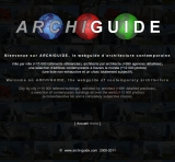 Archiguide, le guide d\'architecture contemporaine (site personnel)